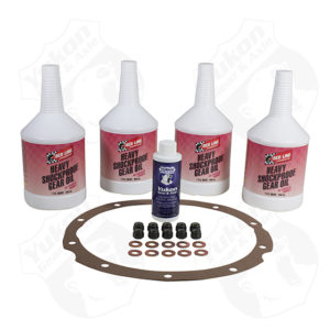 Redline Synthetic Oil with additivegasket and nuts for '55-'64 Chevy Passenger.