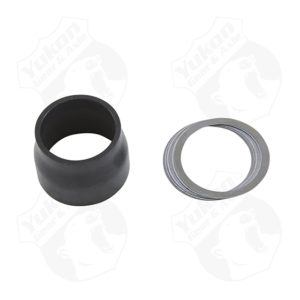 Crush sleeve eliminator for JK Dana 30 & 44 front