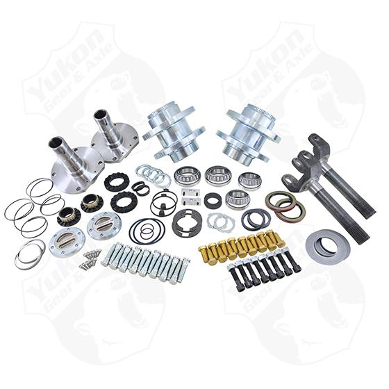 Spin Free Locking Hub Conversion Kit for 2012-2017 Dodge 2500/3500DRW
