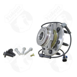 Yukon unit bearing & hub assembly for '99-'14 GM 1/2 ton front