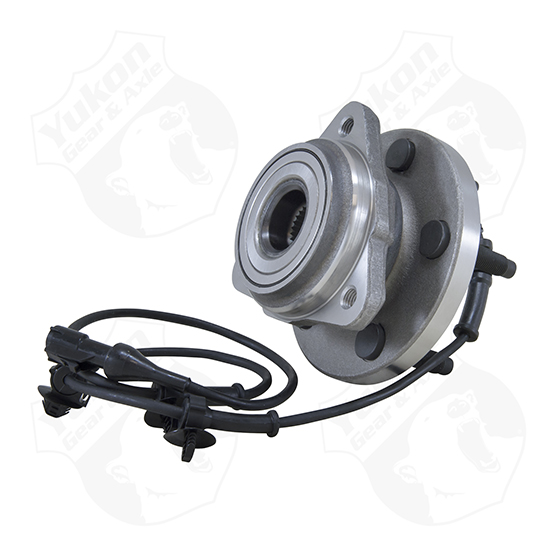 Yukon front unit bearing & hub assembly for '03-'05 Explorer & Rangerwith ABS