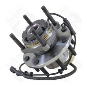 Yukon front unit bearing & hub assembly for '99-'05 F250F350F450 & F550 with 4 wheel ABS