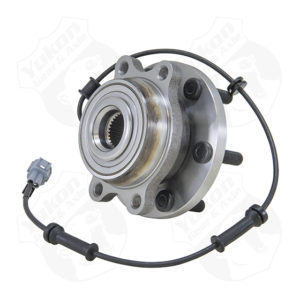 Yukon front unit bearing & hub assembly for '05-'13 Nissan4WD with ABS