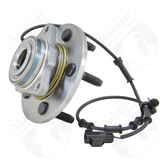Yukon front unit bearing & hub assembly for '02-'05 Ram 1500with ABS & 4 wheel disc brakes