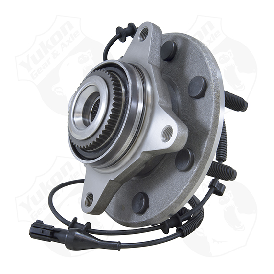 Yukon front unit bearing & hub assembly for '05-'08 Ford F1507 studs