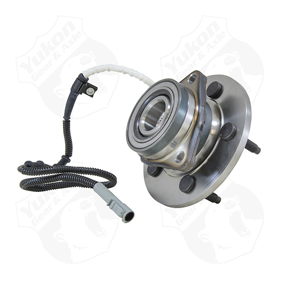 Yukon unit bearing for '97-'00 Ford F150 frontw/ABS. Uses 5 mouting bolts.