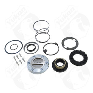 Yukon Hardcore Locking Hub set for '00-'08 Dodge 1-ton front with Spin Free kit1 side only