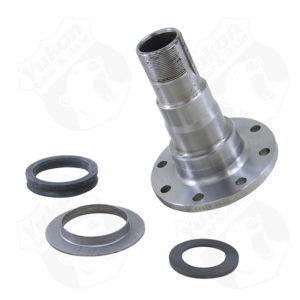 Replacement front spindle for Dana 44 IFS8 stud holes.