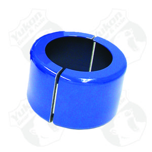 Large clamshell for carrier bearing puller