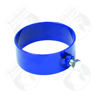 Clamshell retension sleeve for carrier bearing puller