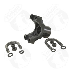 Yukon aluminum billet yoke for Chrysler 8.75 with 10 spline pinion and a 7290 U/Joint size.