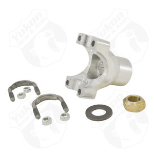 Yukon extra HD aluminum yoke for Chrysler 8.75 with 10 spline pinion and a 7260 U/Joint