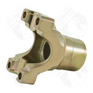 Yukon 1350 yoke for Ford 928 spline pinionw/pulley for oil pump