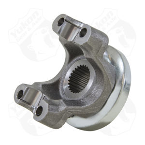 Yukon yoke for GM 8.2 with a 1310 U/Joint size. This yoke uses u-bolts.