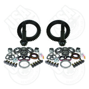 USA Standard Gear & Install Kit package for Jeep TJ Rubicon4.56 ratio