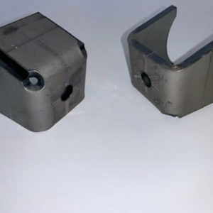 Weld-On Shock Absorber Axle Mount Single Shear Design